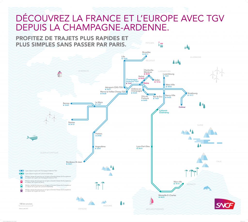 Réseau TGV – Gare Champagne-Ardenne TGV